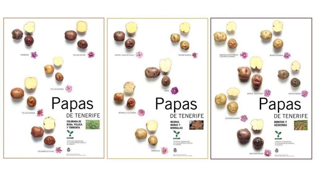 variedades papas